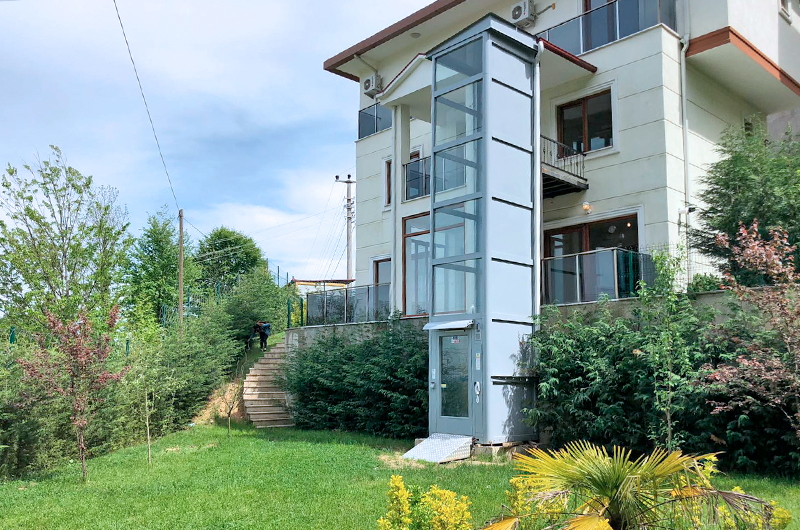 bina dışı asansör sistemleri